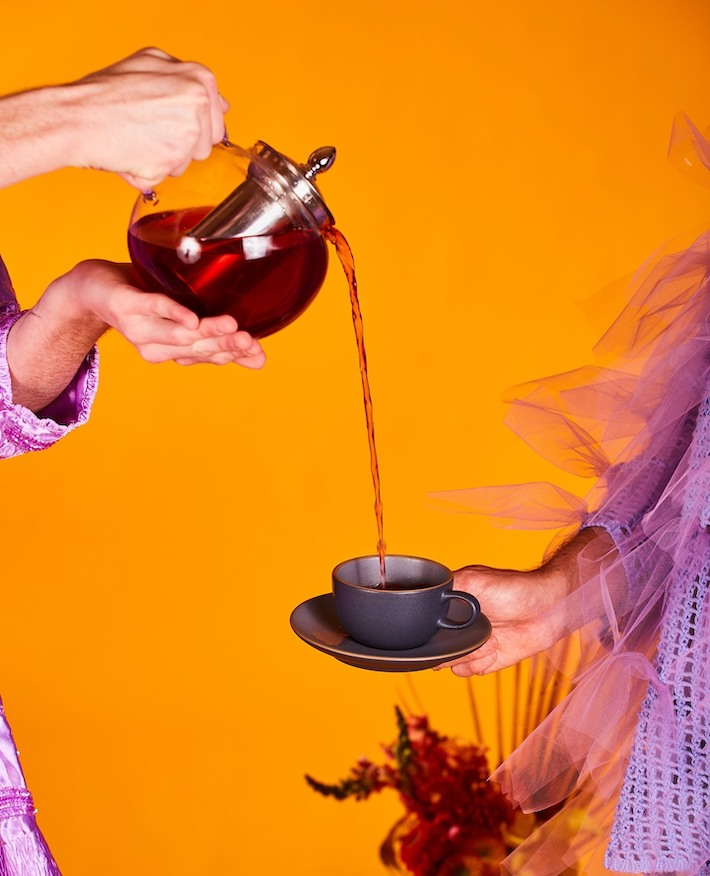 boire du thé de chanvre CBD