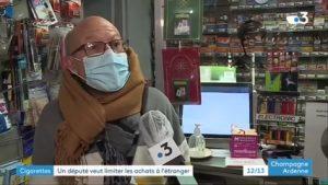 """Interdiction d'achat de tabac à l'étranger: """"il vaut mieux harmoniser les prix"""" (un buraliste)"""