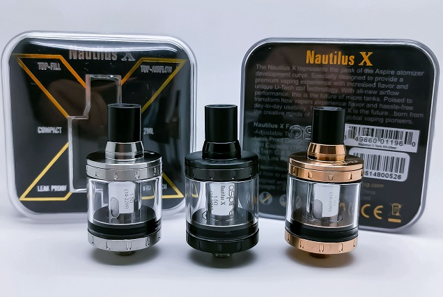 Aspire Nautilus X Atomizer Tank
