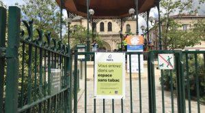 """Paris: 52 parcs et jardins """"sans tabac"""""""