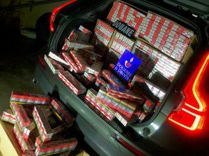 Aisne: 347 boîtes de cigarettes saisies à la campagne