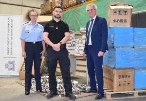 Luxembourg: saisie de 2310 cartouches de cigarettes de contrebande