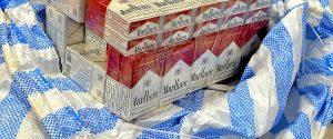 Montpellier: 25 000 paquets de cigarettes saisis dans une camionnette