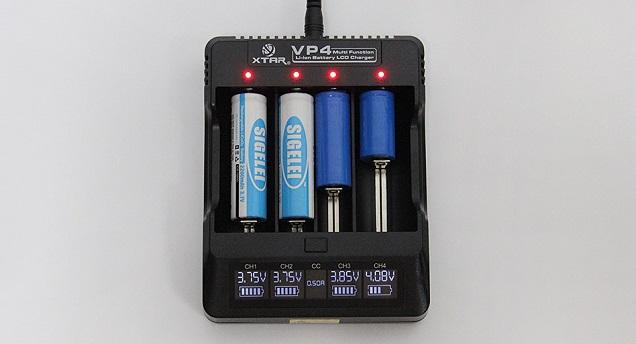 Chargeur Xtar VP4 E-Cig