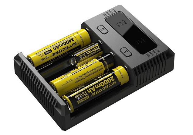 Nitecore i4 Intellicharger - Best 18650 Chargeur de Batterie