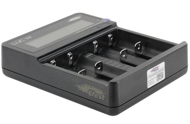 Efest LUC V4 - Chargeur de batterie Vape Mod