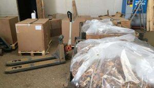 Grande opération européenne contre un réseau mafieux de contrebande de tabac