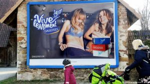 Allemagne: Accord pour interdire la publicité de rue (AFP)