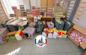 Marseille: saisie de 1250 cartons de cigarettes par la brigade spécialisée