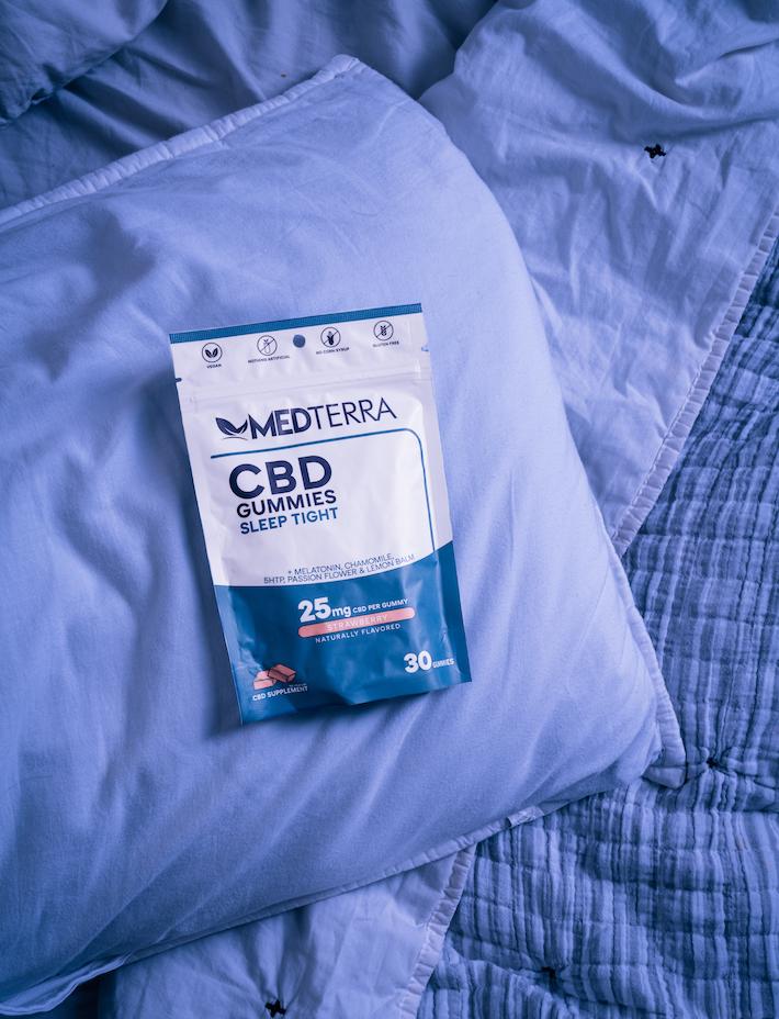 Bonbons gélifiés au CBD Sleep