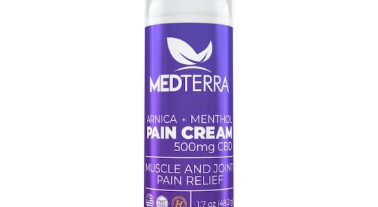 Crème anti-douleur au CBD de Medterra