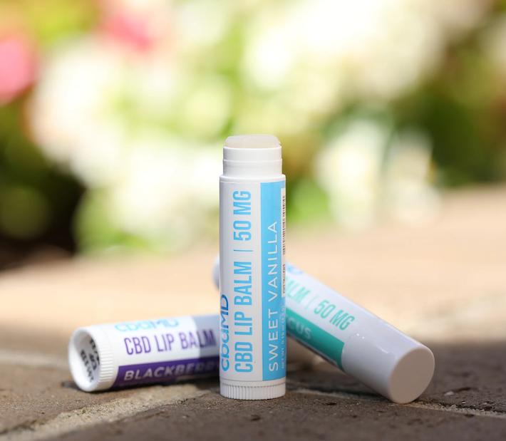 Baume à lèvres CBD sans THC