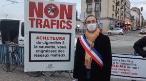 Noisy-le-Sec: un maire courageux déclare la guerre aux vendeurs ambulants de cigarettes