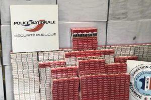 Ain: 2400 cartons de cigarettes interceptés dans un parking de supermarché