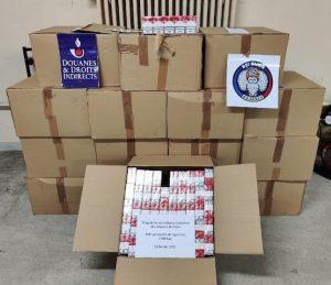 Douane / Dijon: saisie de 16 caisses de contrebande sur l'A 31