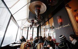 Bar-Tabac: quelle interdiction de chauffage sur les terrasses?