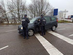 Achats à la frontière / Alsace: contrôles douaniers au retour de Kehl