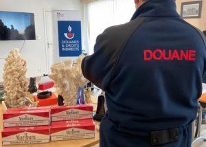 Douane / Centre-Val de Loire: augmentation significative des saisies de tabac en 2020