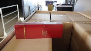 Trafic transmanche: 3,5 tonnes de cigarettes JPS qui n'atteindront pas le Royaume-Uni