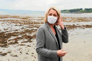 Fins : Barbara Pompili dans le Morbihan