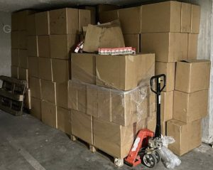 Lyon : 10 000 caisses de cigarettes de contrebande... dans un camion