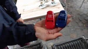 Mégots : à Montbéliard, distribution de cendriers de poche