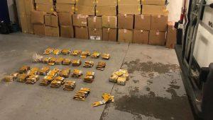 Douane Montauban : une saisie de près de 2 400 cartouches d'un coup