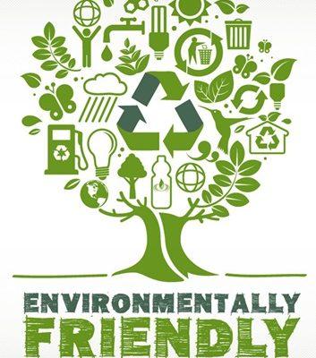 Expliquer vert, respectueux de l'environnement et respectueux de l'environnement