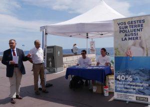 Mégots : cendriers de poche à Nice