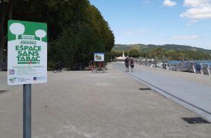 Tournon-sur-Rhône : une première… un « quai sans tabac »